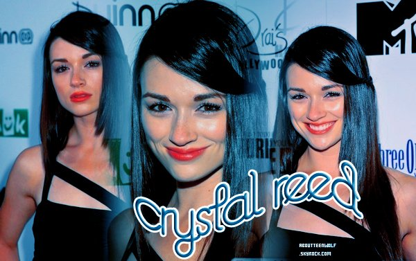 Crystal Reed alias Allison Argent ♥