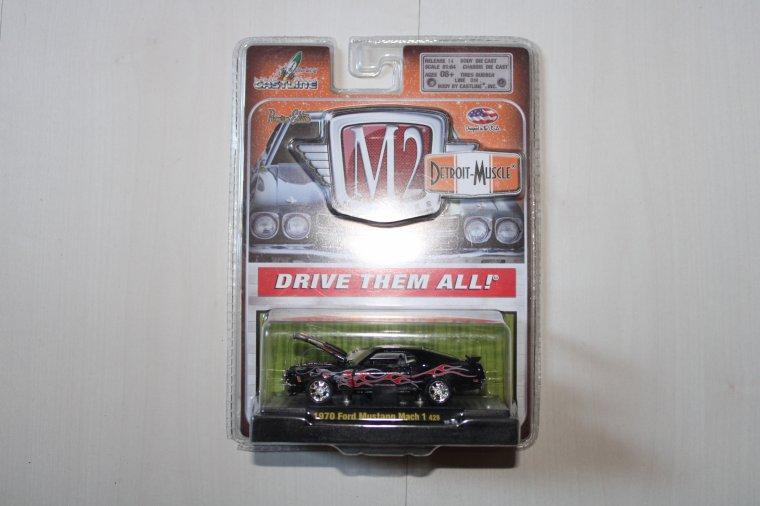 m2 machine ford mustang match 1 1970