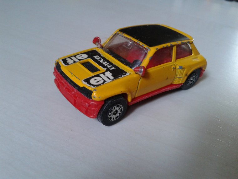 corgi renault 5 turbo