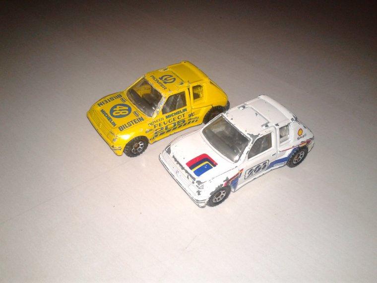 matchbox peugeot 205 turbo 16 1984