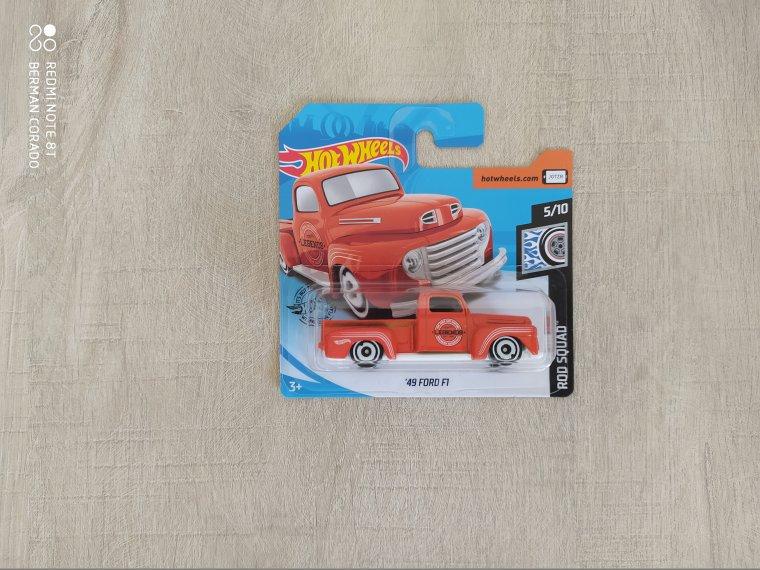 hot wheels ford F1 49