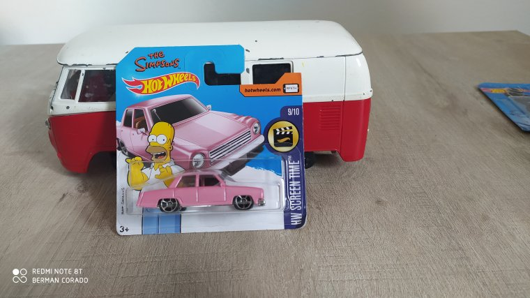 hot wheels the simpsons