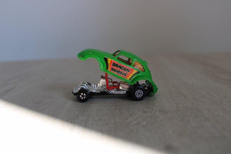 matchbox VW cox dragon wheels 1974