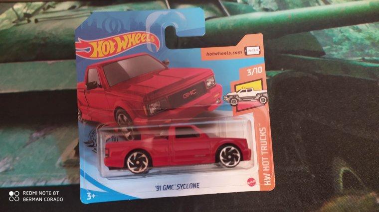 hot wheels gmc syclone 1991
