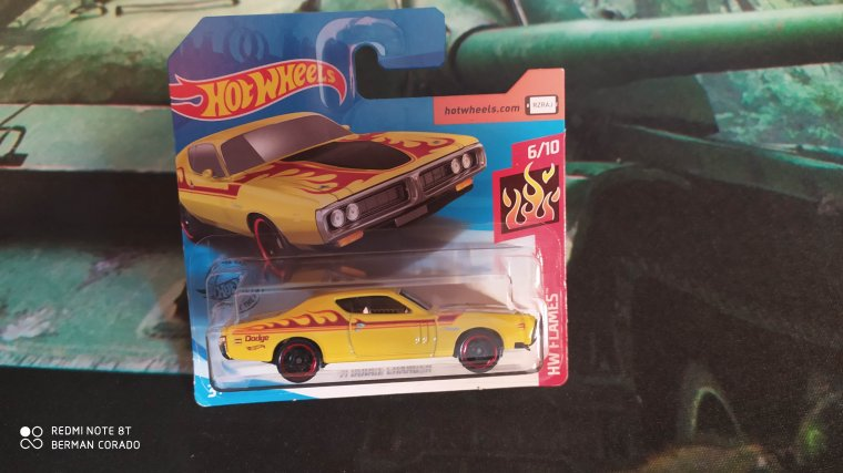 hot wheels dodge charger 1971
