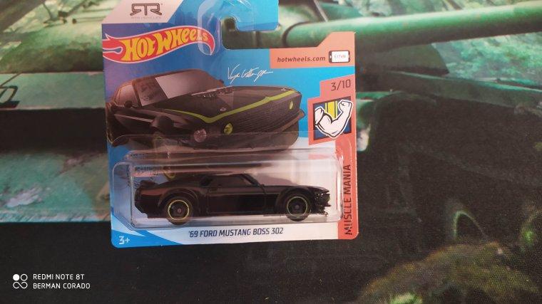 hot wheels ford mustang boss 1969