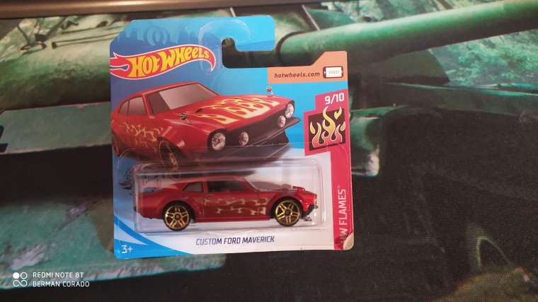 hot wheels ford maverick