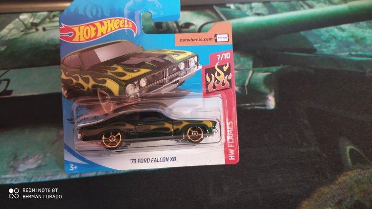 hot wheels ford falcom xb 73
