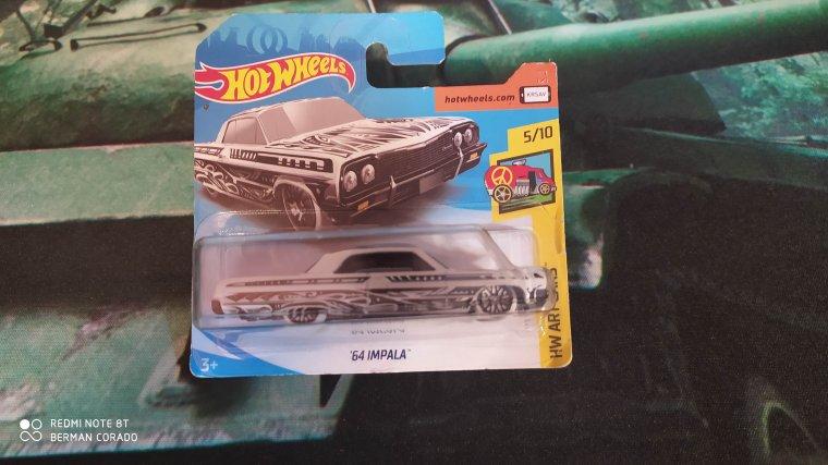 hot wheels chevrolet impala 1964
