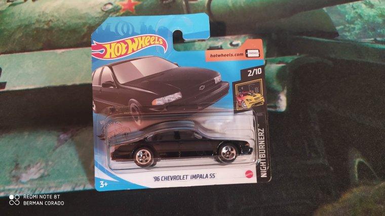 hot wheels chevrolet impala ss 1996