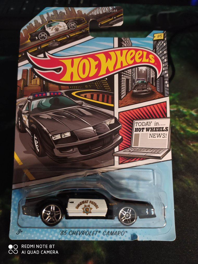hot wheels chevrolet camaro 1985