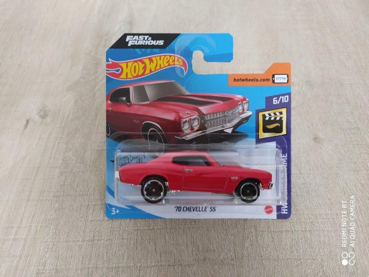 hot wheels chevrolet chevelle 1970