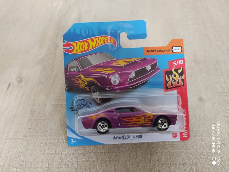 hot wheels ford mustang shelby gt 500 1968