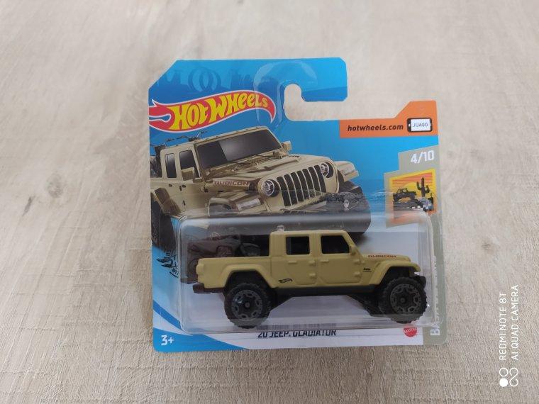 hot wheels jeep gladiator 2020