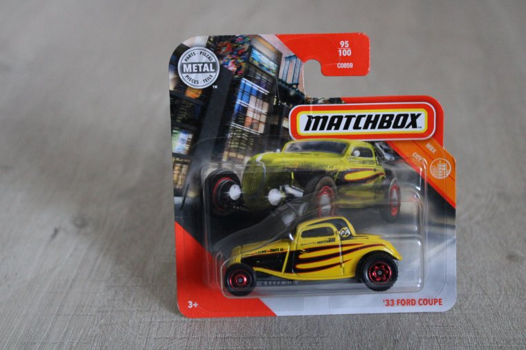 matchbox ford coupe