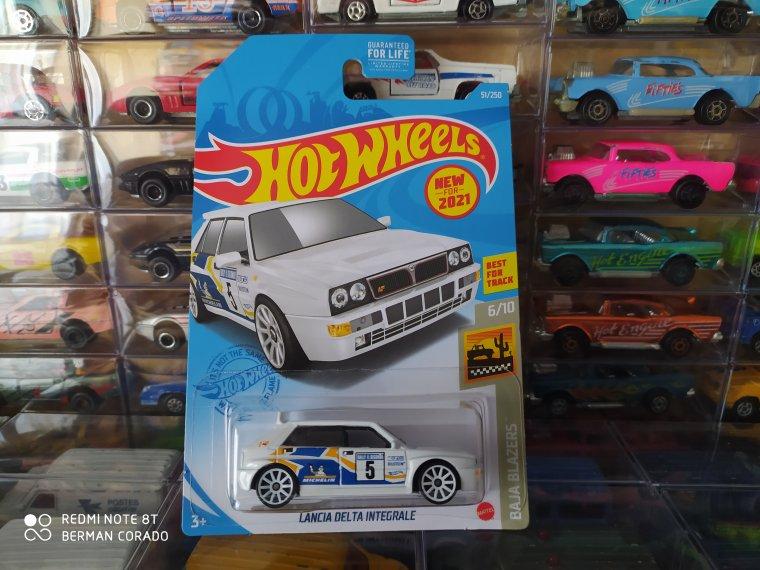 hot wheels Lancia delta intégral