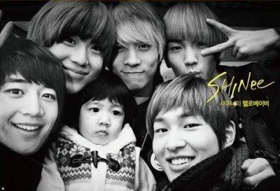 Shinee Sont dans hello baby le petit il est trop chouxx!!!