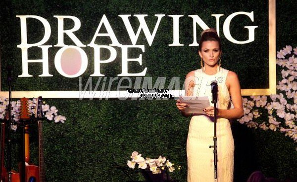 Appearances 18 March 12 - Drawing Hope International Masquerade Gala Dinner at The Mark, Los Angeles