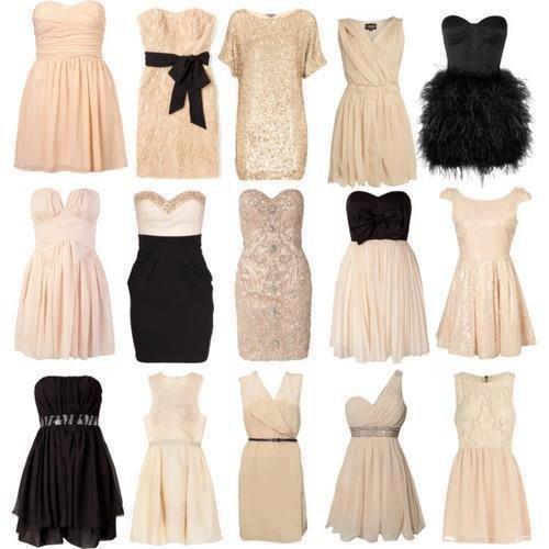 Les filles laquelle de ces robes vous préférer ?