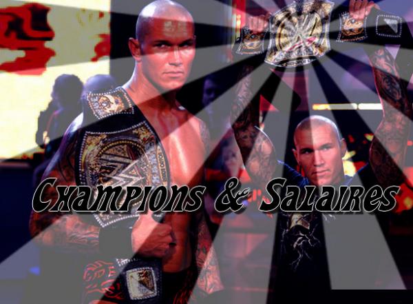 Champion et salaire
