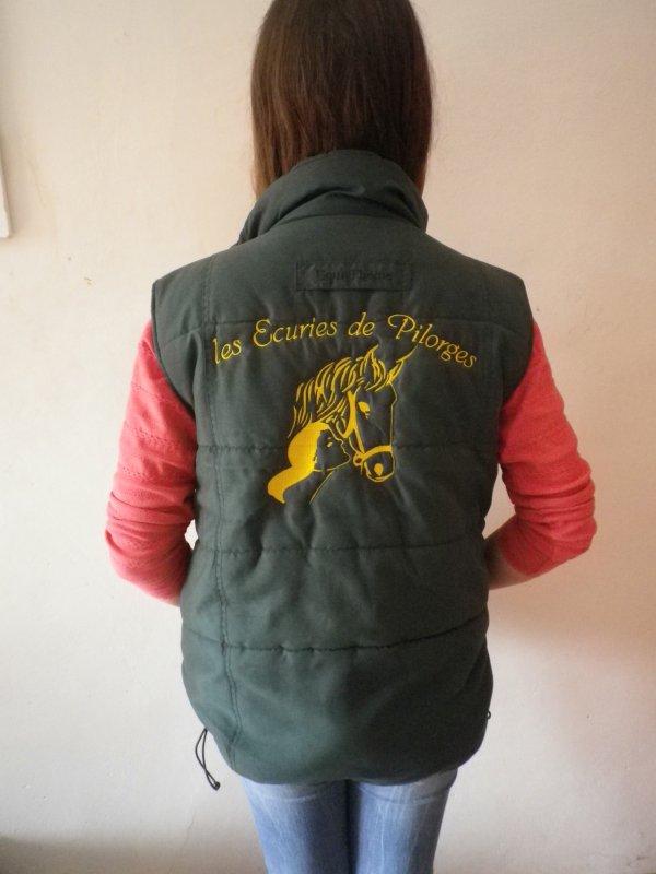 Blouson Mi saison Sans Manche !!!