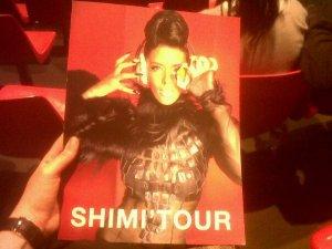 Shy'm ... 26 Mars 2012 < Montpellier>