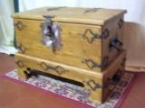 Grand coffre de voyage du XIIIème siècle