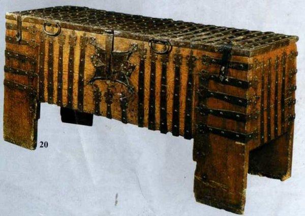 Coffre du XVème siècle