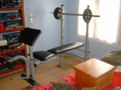 banc de musculation bm 140