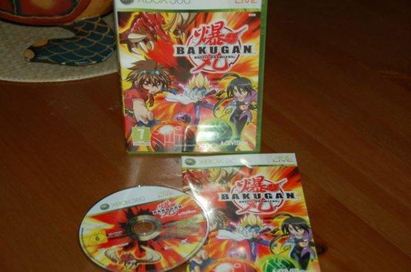 Jeu xbox 360: Bakugan Battle Brawlers