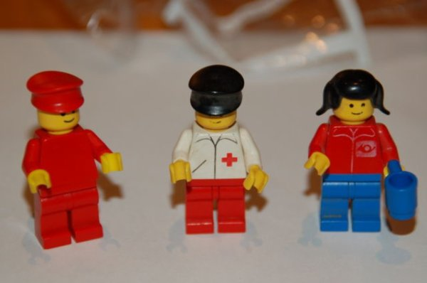 Lego 3 petits personnages