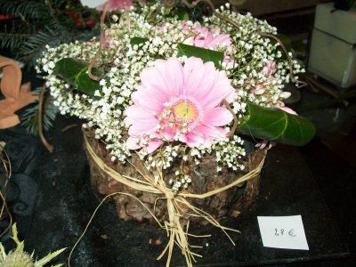 expo de Longchamps  montage floral