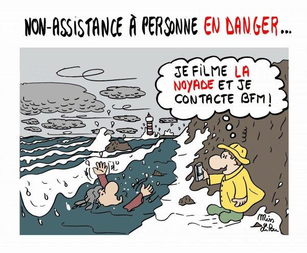 NON ASSISTANCE À PERSONNE EN DANGER