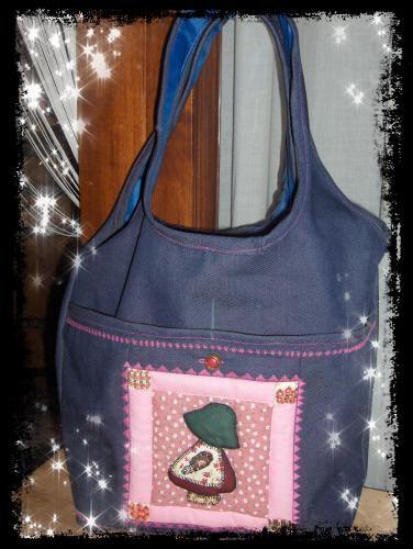 Nouveau sac avec un dessin en Patchwork