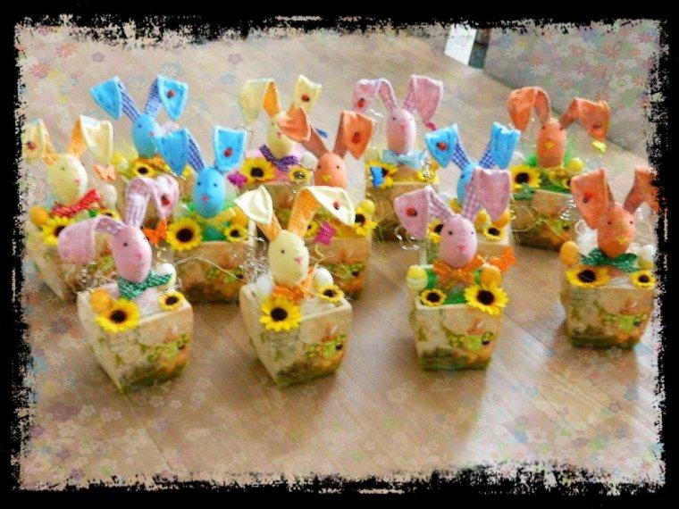 Table de Pâques (Photo de famille)
