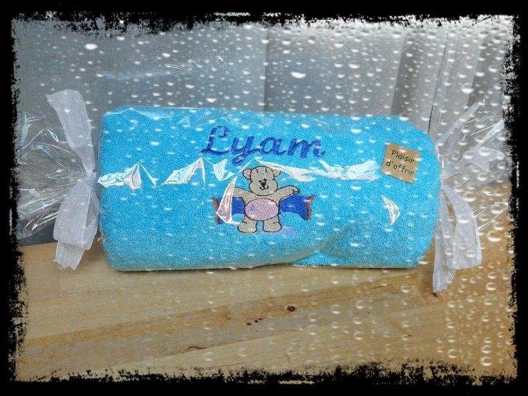 Essuie de bain pour Lyam