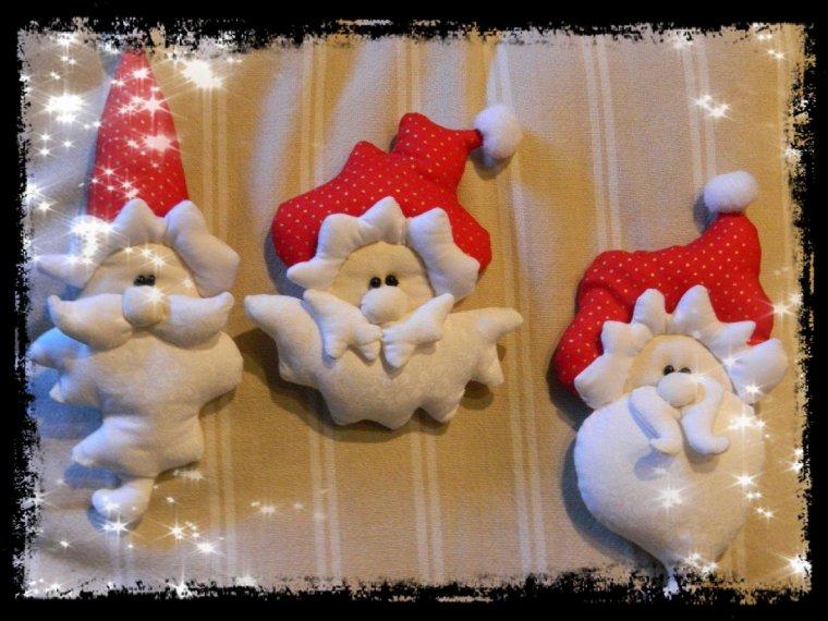 Têtes de Père Noël