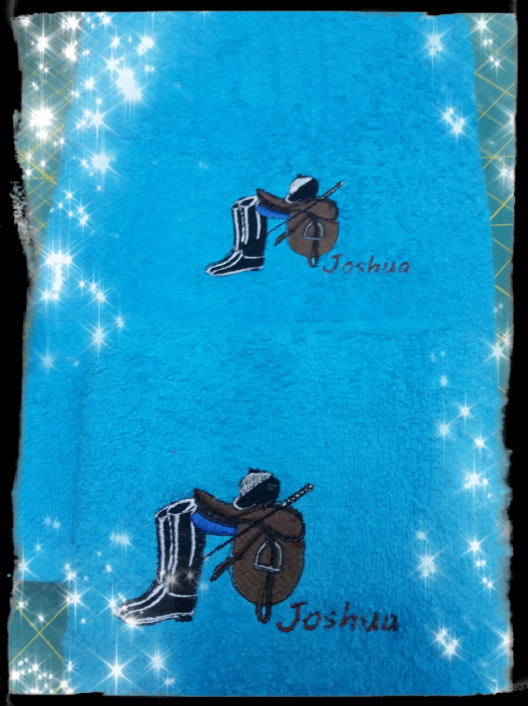 Joshua / équitation