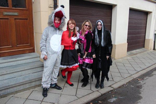 les monster au carnaval:D