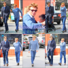 Simon Baker était le 20/02/12... Leaves The Brentwood Country