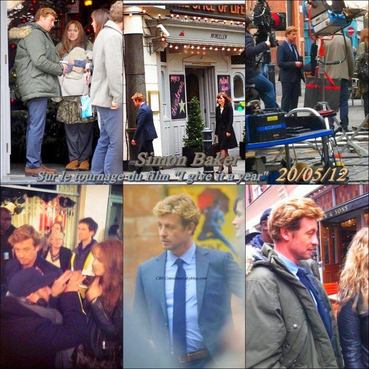 News de Simon Baker photos tournage prise le 20/05/12