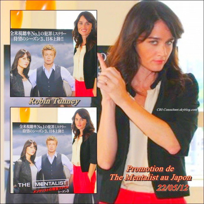 News Robin Tunney Promotion de The Mentalist au Japon 22/05/12 voicis les photos