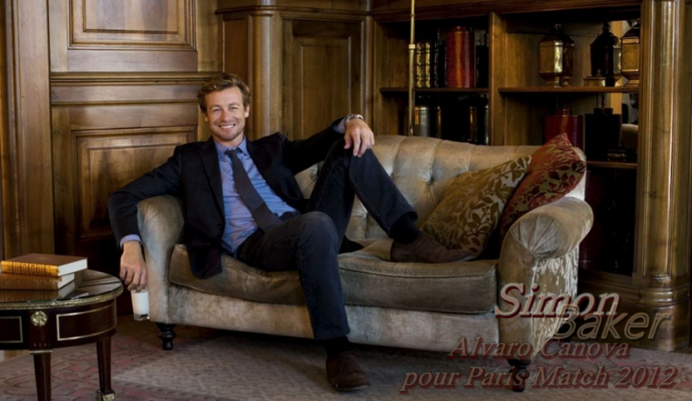 News shoot pour Simon Baker