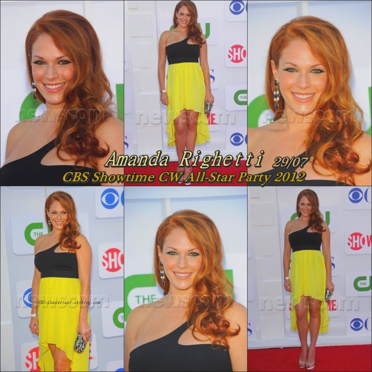 CBS Showtime CW All-Star Party 2012 29/07/12 voici les photos