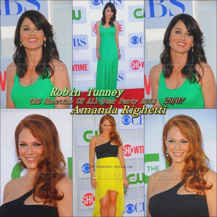 CBS Showtime CW All-Star Party 2012 29/07/12 voici les photos