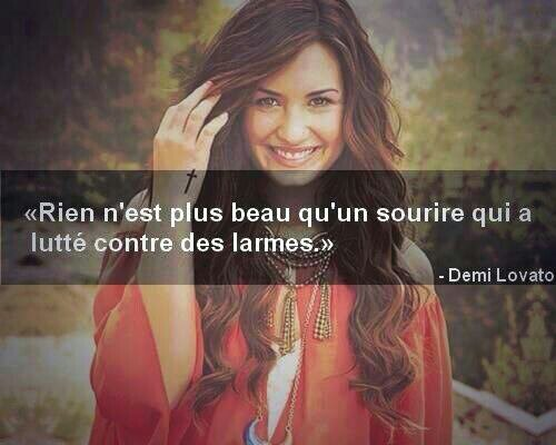 Citation Demi Lovato