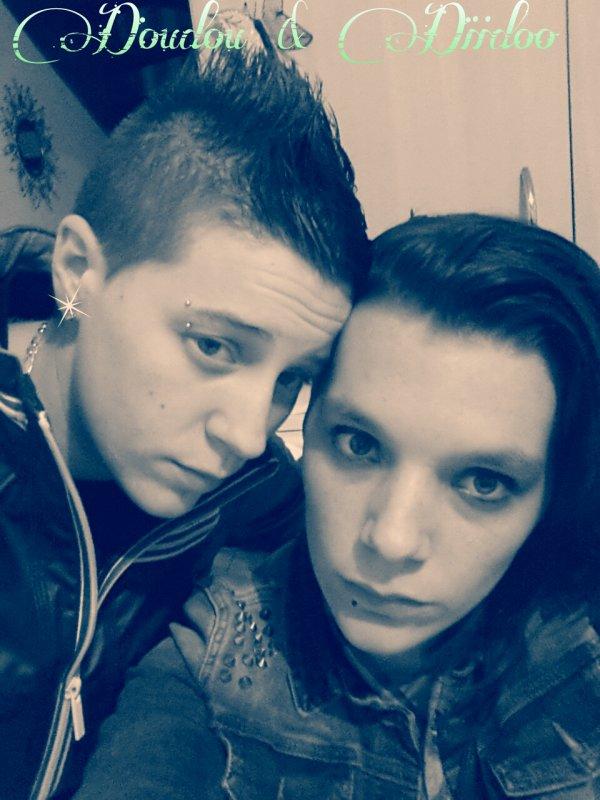 Lorena et Gwen cest impossible comme titi et grominet ♥