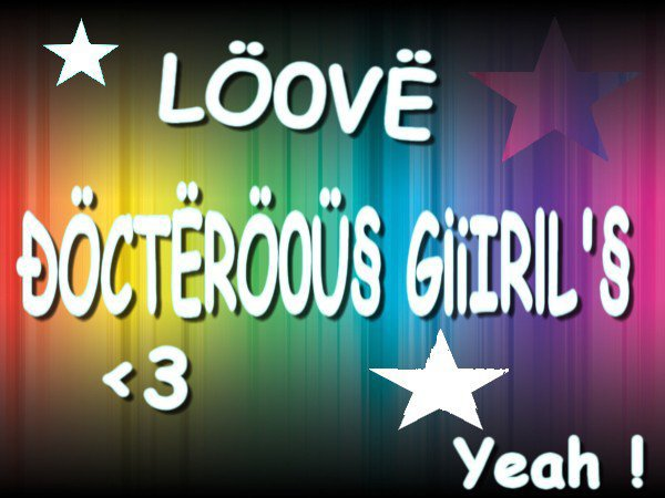 Docterous Girl's Officiel Page