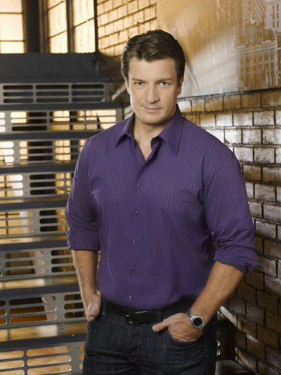RICHARD CASTLE / NATHAN FILLION