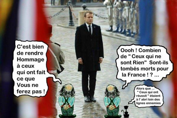 Macron : Samedi 11 Novembre 2017